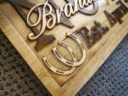 personalized wedding plaque personalized wedding gift sign carved custom wood last name