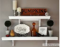 geery party of two dining room shelves u0026 decorating for halloween