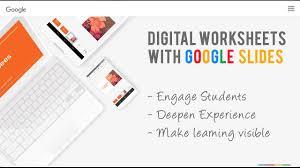 create digital worksheets using google slides youtube