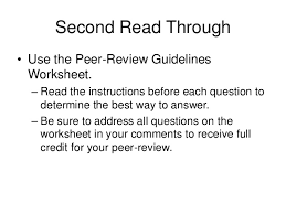 peer review power point