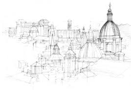 sketch of rome u2013 illustrated maps