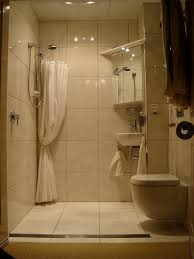 Compact Bathroom Design by Disappearing Shower Curtain For Small Bathrooms Small Bathroom
