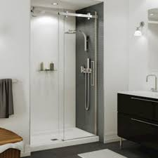 48 Shower Doors Maax Halo 44 1 2 47 Sliding 2 Panel Shower Door At Menards