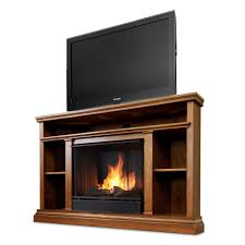 real flame churchill ventless gel fireplace oak walmart com