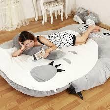 My Neighbor Totoro Single Sofa Large Matelas Totoro Single And Double Bed Giant Totoro Bed