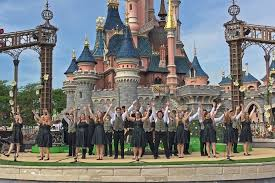 stuttgart castle phs harmony choir performs at disneyland stuttgartcitizen com