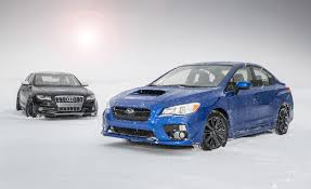 subaru new vs old 2015 subaru wrx vs 2010 audi s4 u2013 comparison test