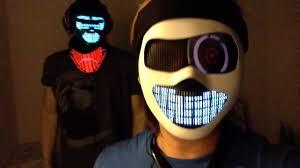 Cool Mask Futuristic Cyborg Masks Future Robot Light Up Helmet U0026 Light Up