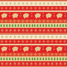 new year wrapping paper new year wrapping paper with golden lambs on background fabric
