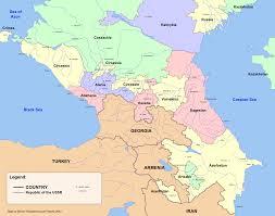 Ussr Map Russia Nc Alternative North Caucasus Map Eurasian Geopolitics