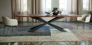 spyder wood table by cattelan italia devincenti multiliving
