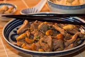 livre cuisine chinoise filet mignon de porc sauté aux noix de cajou