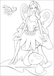 fairy coloring pages barbie fairy coloring pages colour