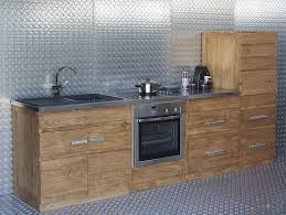 meuble cuisine teck meubles de cuisine en teck massif collection kayumanis