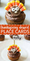 fun thanksgiving treats thanksgiving dessert place cards what molly made