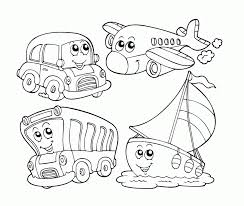 preschool color books air transportation vehicle coloring page kids coloring