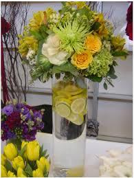 popular yellow wedding flower arrangements flower arrangement for