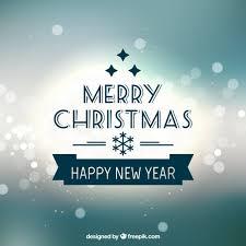 merry christmas u0026 happy 2015 vector free download