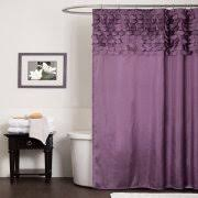 Purple Grey Curtains Purple Shower Curtains Walmart