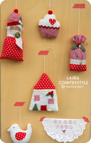 100 country style christmas ornaments diy vintage christmas