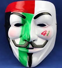 v for vendetta mask colored v for vendetta mask for costume party moq 10pcs