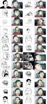 Asian Meme Face - asian guy doing meme faces