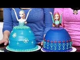 how to make a frozen princess cake nerdy nummies youtube