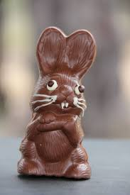 chocolate rabbits chocolate rabbit buried words and bushwa