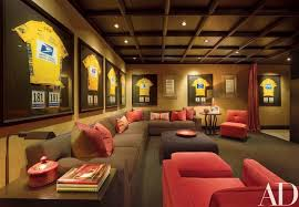 Media Game Room - lance armstrong u0027s spanish colonial home in the heart of texas