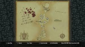 Solstheim Map Paper World Map Addons At Skyrim Nexus Mods And Community