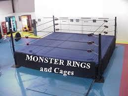 backyard wrestling ring for sale cheap monster pro wrestling ring