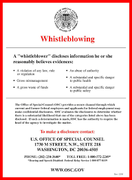 Intent To Hire Letter From Employer by Whistleblower Protection In The United States Wikipedia