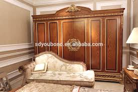 0062 italy classic bedroom furniture luxury wooden wardrobes
