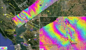 California Fault Map Nasa Research Aids Response To California Napa Quake Nasa