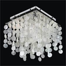 Crystal Flush Mount Lighting Capiz Shell Flush Mount Light Fixture Cityscape 598c U2013 Glow