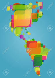 Map Of North America And Central America by Latin America Map Stock Photos Royalty Free Latin America Map