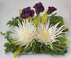 edible flower arrangements how to make beautiful cabbage flower bouquet fab diy