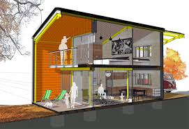 Affordable Home Decor Uk Cardiff Architect Designs Self Build Home Which Costs Just 41 000