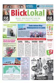 Reha Bad Mergentheim Blicklokal Bad Mergentheim Kw 25 2016 1 By Blicklokal