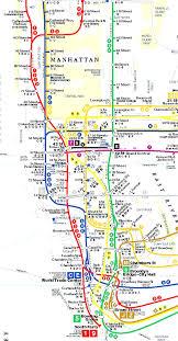 Subway Map Manhattan by Terramaps Nyc Manhattan Street And Subway Map Endearing Enchanting