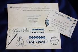 wedding invitations las vegas navy gray las vegas casino themed antique airline ticket wedding