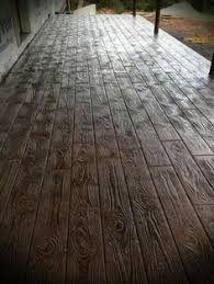 how to a concrete floor look like hardwood flooring i