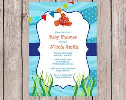finding nemo baby shower baby shower invitation finding nemo baby shower invitation finding
