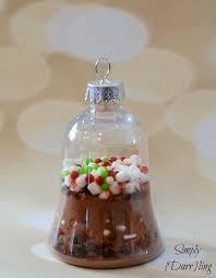 diy cocoa ornaments simply darr