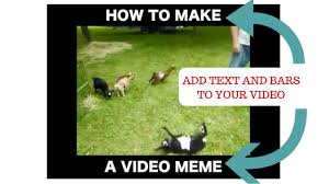 how to make a video meme video meme generator in any video editor