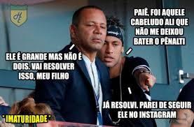 Neymar Memes - os memes sobre o desentendimento entre cavani e neymar esportes