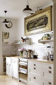 80 elegant white shabby chic kitchen wall shelves kitchen wall