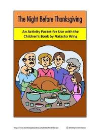 twas the before thanksgiving a reader s theatre by