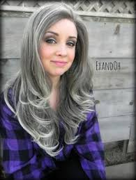how to grow in gray hair with highlights image result for growing out grey hair with highlights hair