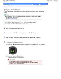 canon printer manuals aligning the print head canon pixma mp250 user manual page 63